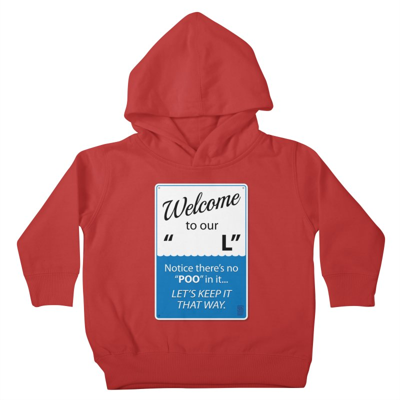"Welcome To Our ""___L"" Kids Toddler Pullover Hoody by Zachary Knight 