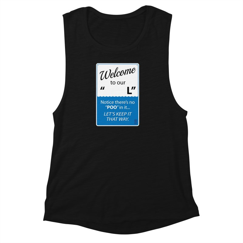 "Welcome To Our ""___L"" Women's Muscle Tank by Zachary Knight 