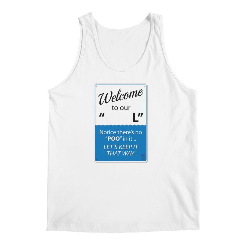 "Welcome To Our ""___L"" Men's Regular Tank by Zachary Knight 
