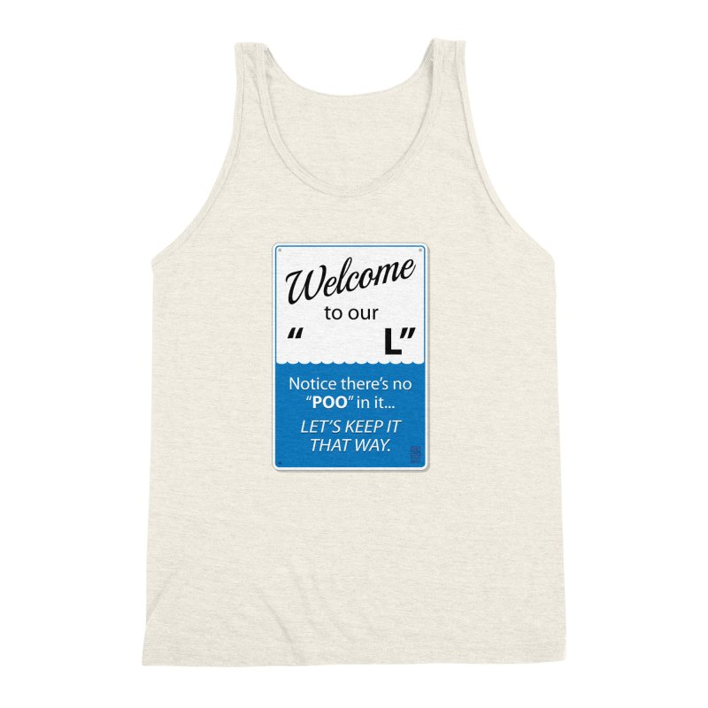 "Welcome To Our ""___L"" Men's Triblend Tank by Zachary Knight 