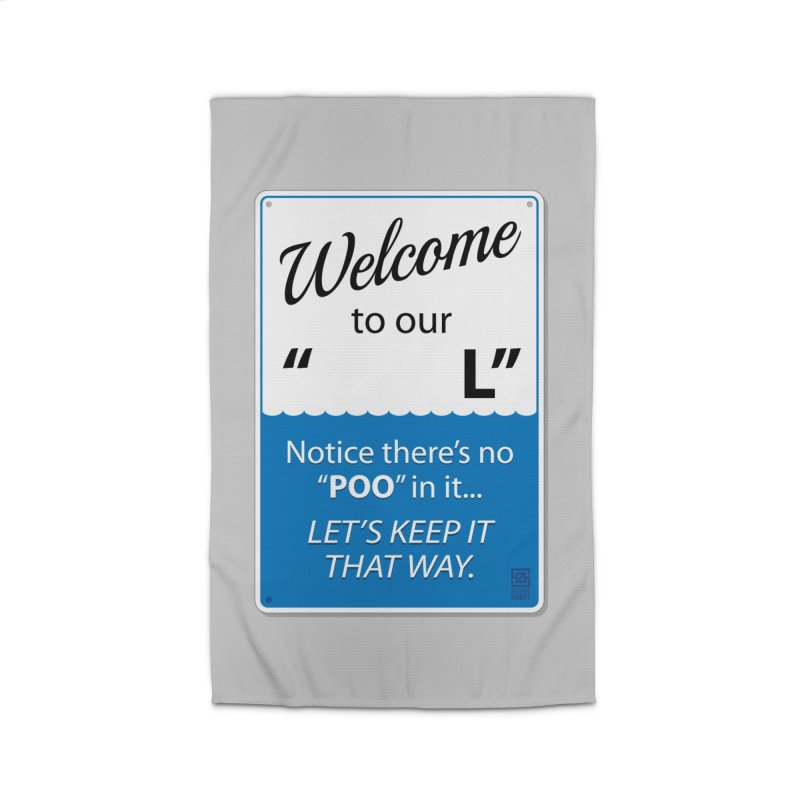 """Welcome To Our """"___L"""" Home Rug by Zachary Knight   Artist Shop"""