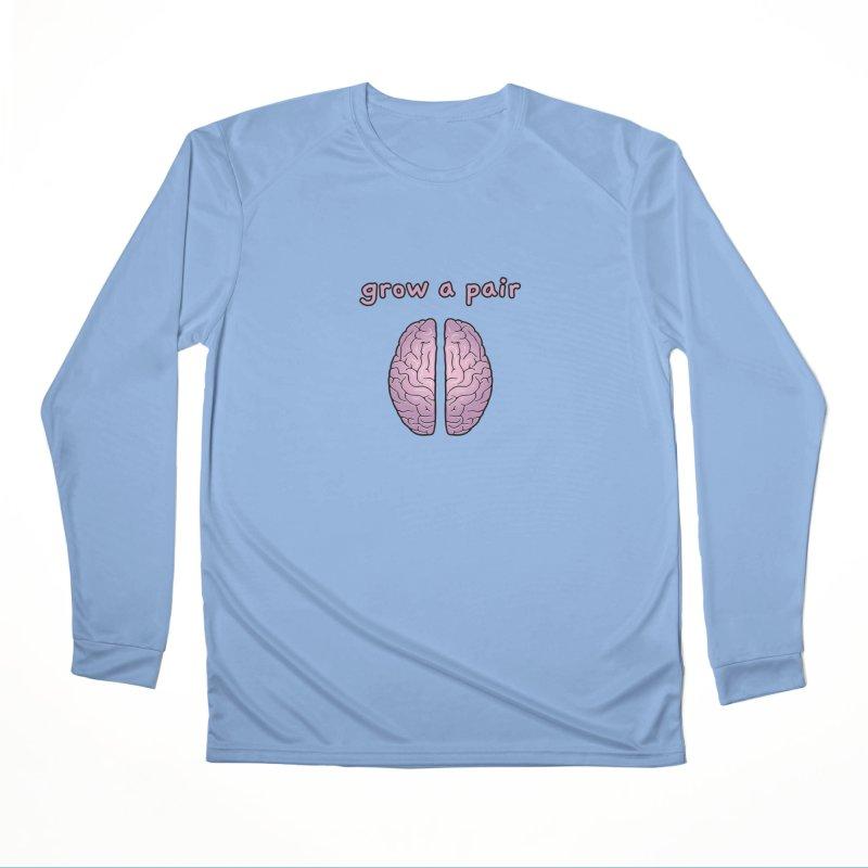 Grow A Pair Men's Longsleeve T-Shirt by Zachary Knight | Artist Shop