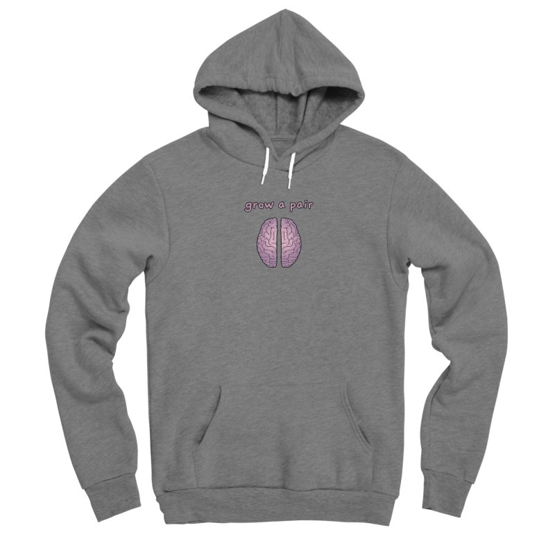 Grow A Pair Men's Pullover Hoody by Zachary Knight | Artist Shop
