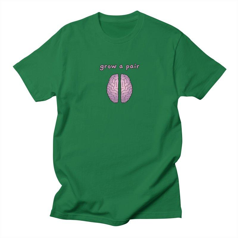 Grow A Pair Men's T-Shirt by Zachary Knight | Artist Shop