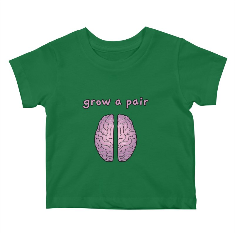 Grow A Pair Kids Baby T-Shirt by Zachary Knight | Artist Shop