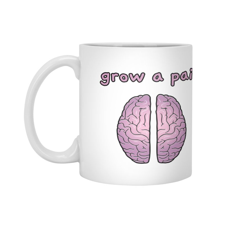 Grow A Pair Accessories Mug by Zachary Knight | Artist Shop