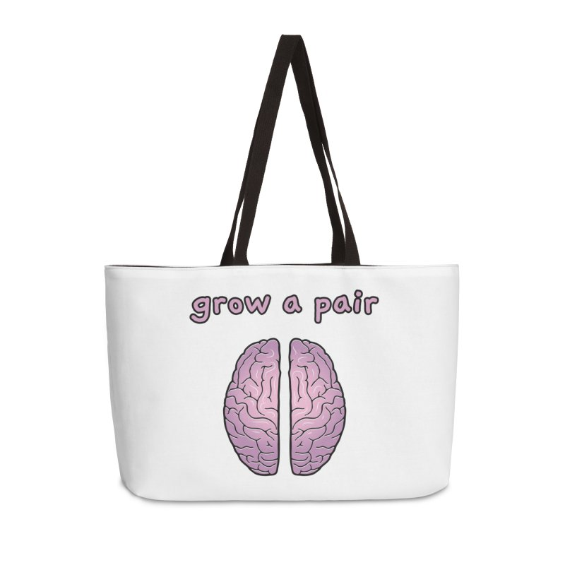 Grow A Pair Accessories Weekender Bag Bag by Zachary Knight | Artist Shop