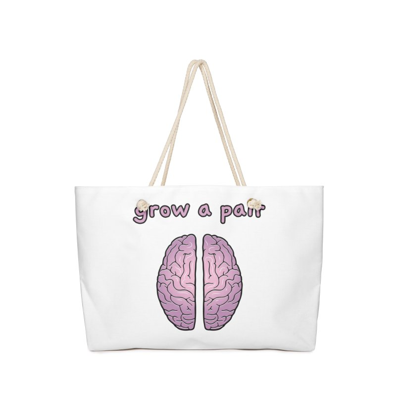 Grow A Pair Accessories Bag by Zachary Knight | Artist Shop