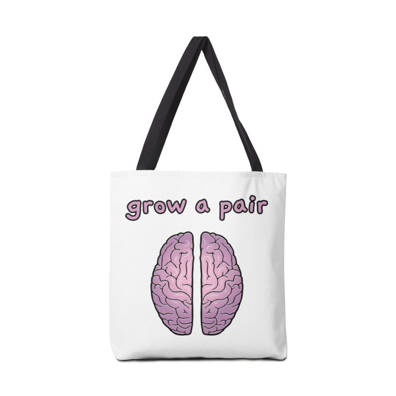 Grow A Pair Accessories Tote Bag Bag by Zachary Knight | Artist Shop