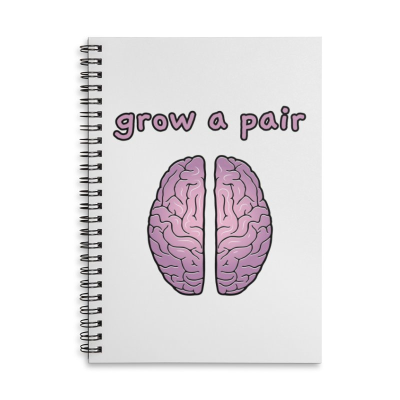 Grow A Pair Accessories Notebook by Zachary Knight | Artist Shop