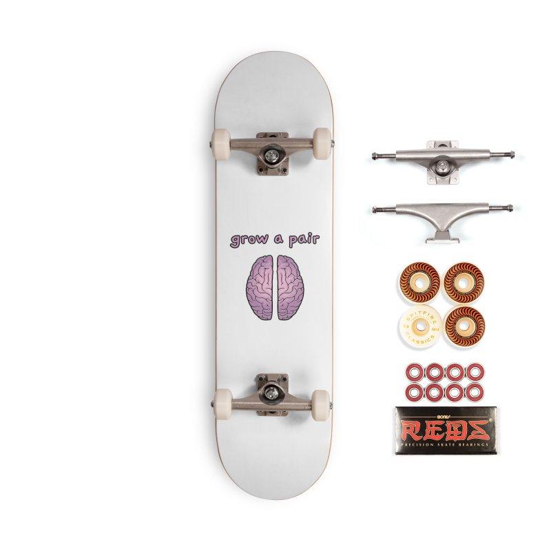 Grow A Pair Accessories Skateboard by Zachary Knight   Artist Shop