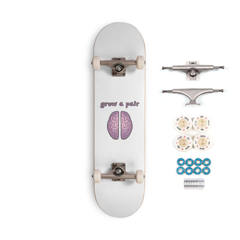 Grow A Pair Accessories Complete - Premium Skateboard by Zachary Knight | Artist Shop
