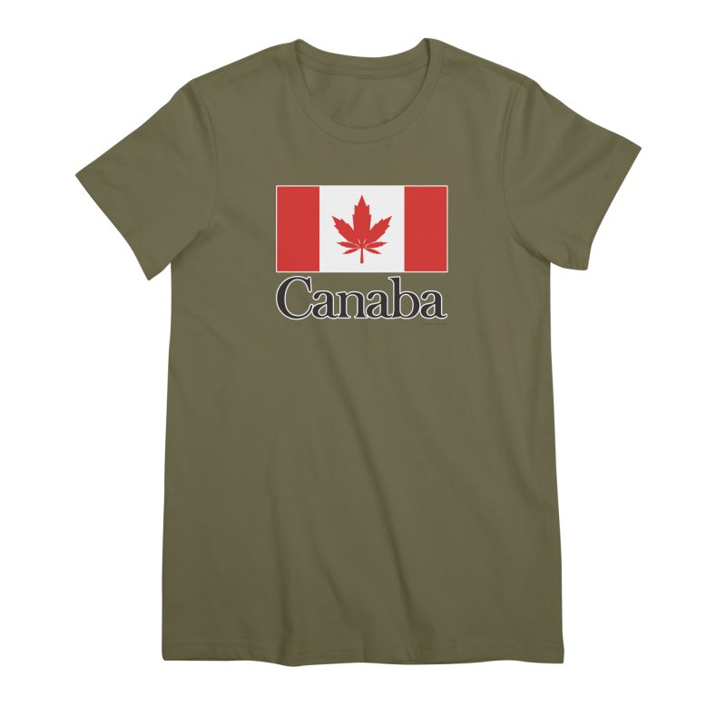 Canaba - Style A Women's Premium T-Shirt by Zachary Knight   Artist Shop