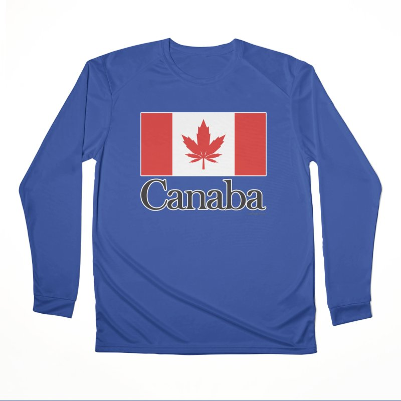Canaba - Style A Men's Performance Longsleeve T-Shirt by Zachary Knight | Artist Shop