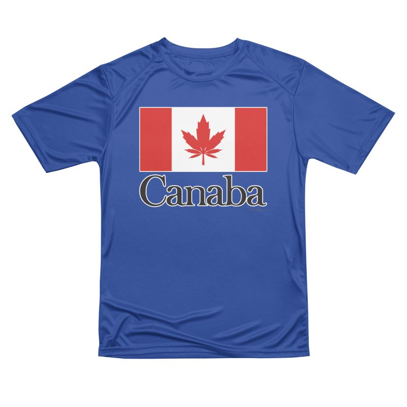 Canaba - Style A Women's Performance Unisex T-Shirt by Zachary Knight | Artist Shop