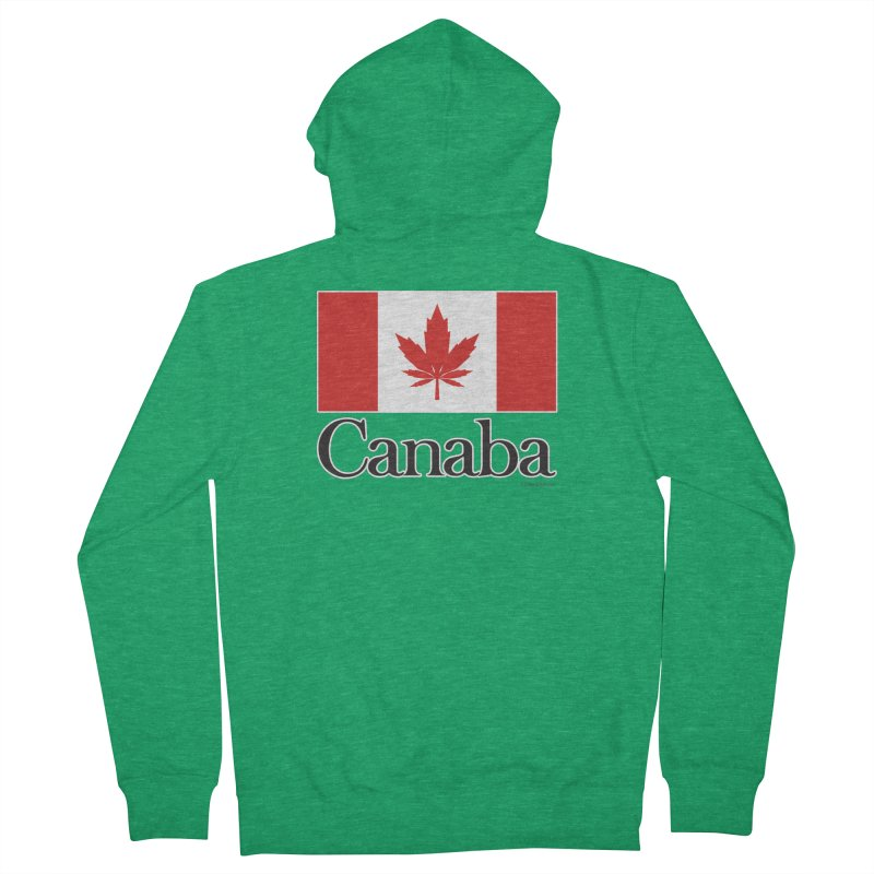 Canaba - Style A Men's Zip-Up Hoody by Zachary Knight | Artist Shop