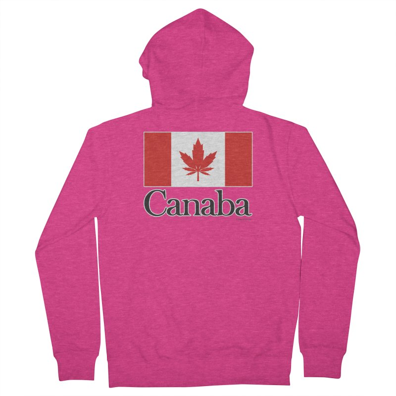 Canaba - Style A Women's French Terry Zip-Up Hoody by Zachary Knight | Artist Shop