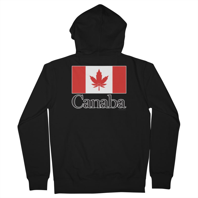 Canaba - Style A Men's French Terry Zip-Up Hoody by Zachary Knight | Artist Shop