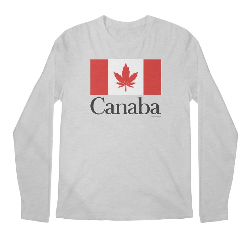 Canaba - Style A Men's Regular Longsleeve T-Shirt by Zachary Knight | Artist Shop