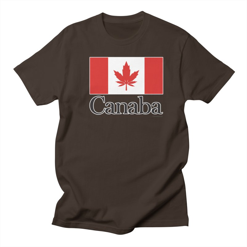 Canaba - Style A Men's T-Shirt by Zachary Knight | Artist Shop
