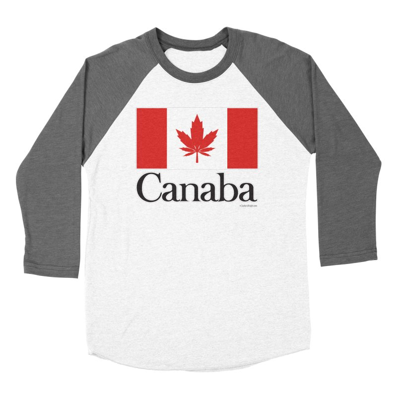 Canaba - Style A Women's Baseball Triblend Longsleeve T-Shirt by Zachary Knight | Artist Shop