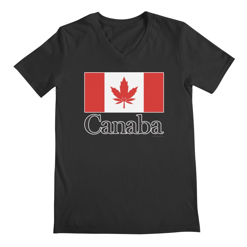 Canaba - Style A Men's Regular V-Neck by Zachary Knight | Artist Shop