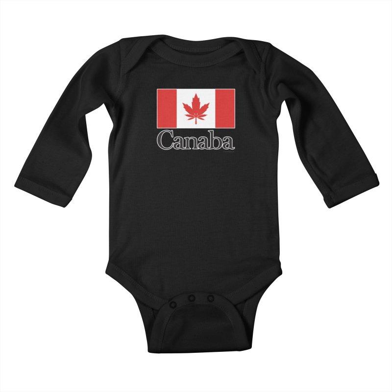 Canaba - Style A Kids Baby Longsleeve Bodysuit by Zachary Knight | Artist Shop
