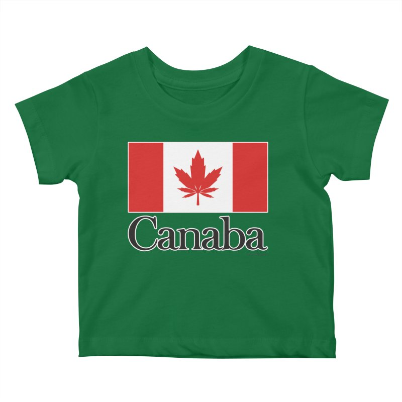 Canaba - Style A Kids Baby T-Shirt by Zachary Knight | Artist Shop