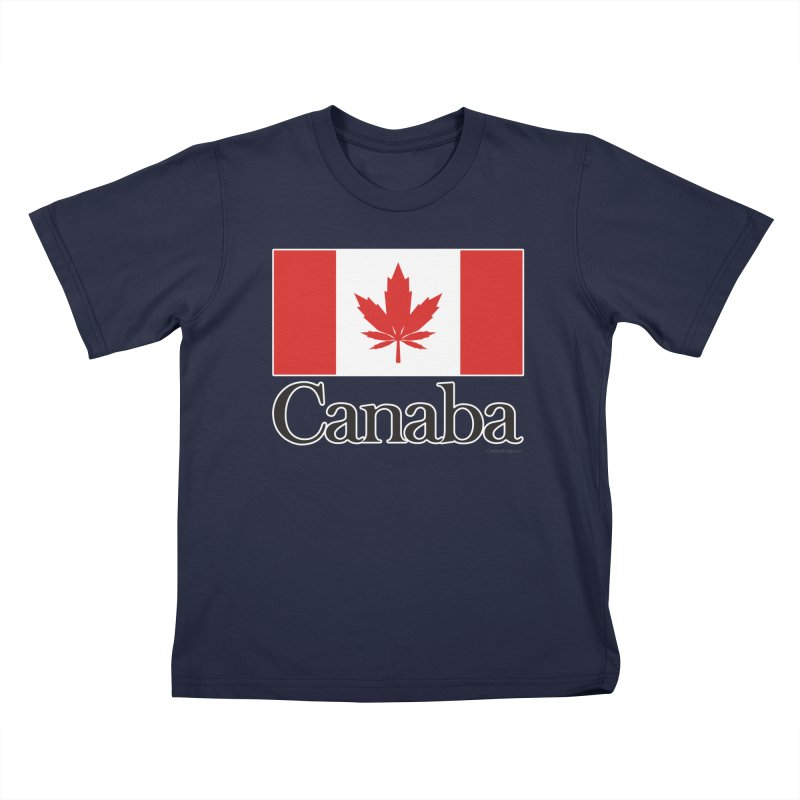 Canaba - Style A Kids T-Shirt by Zachary Knight   Artist Shop
