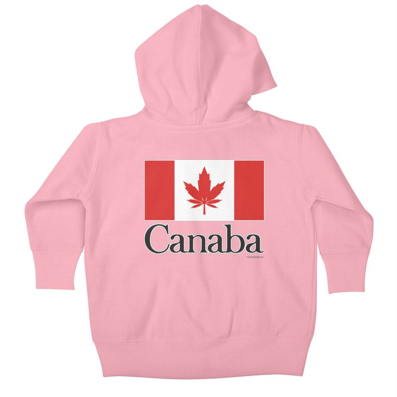 Canaba - Style A Kids Baby Zip-Up Hoody by Zachary Knight | Artist Shop