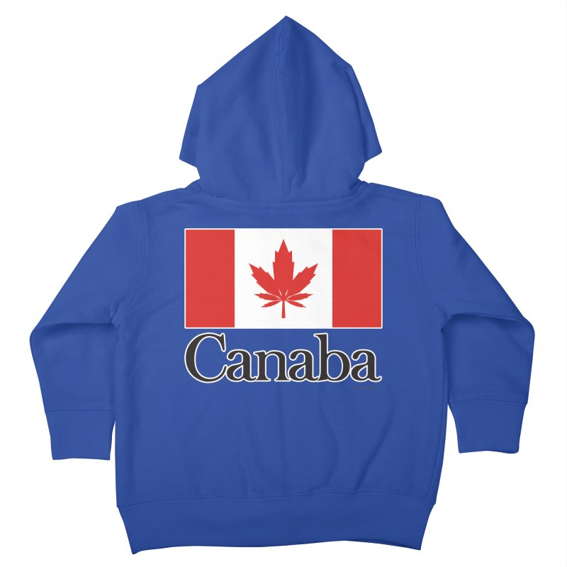 Canaba - Style A Kids Toddler Zip-Up Hoody by Zachary Knight | Artist Shop