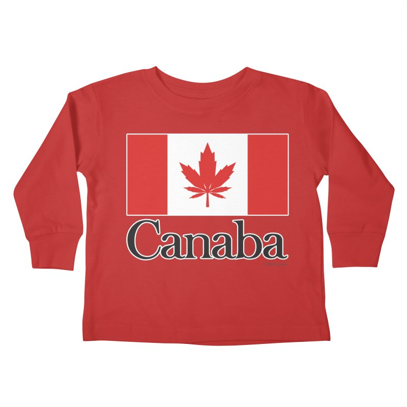 Canaba - Style A Kids Toddler Longsleeve T-Shirt by Zachary Knight | Artist Shop