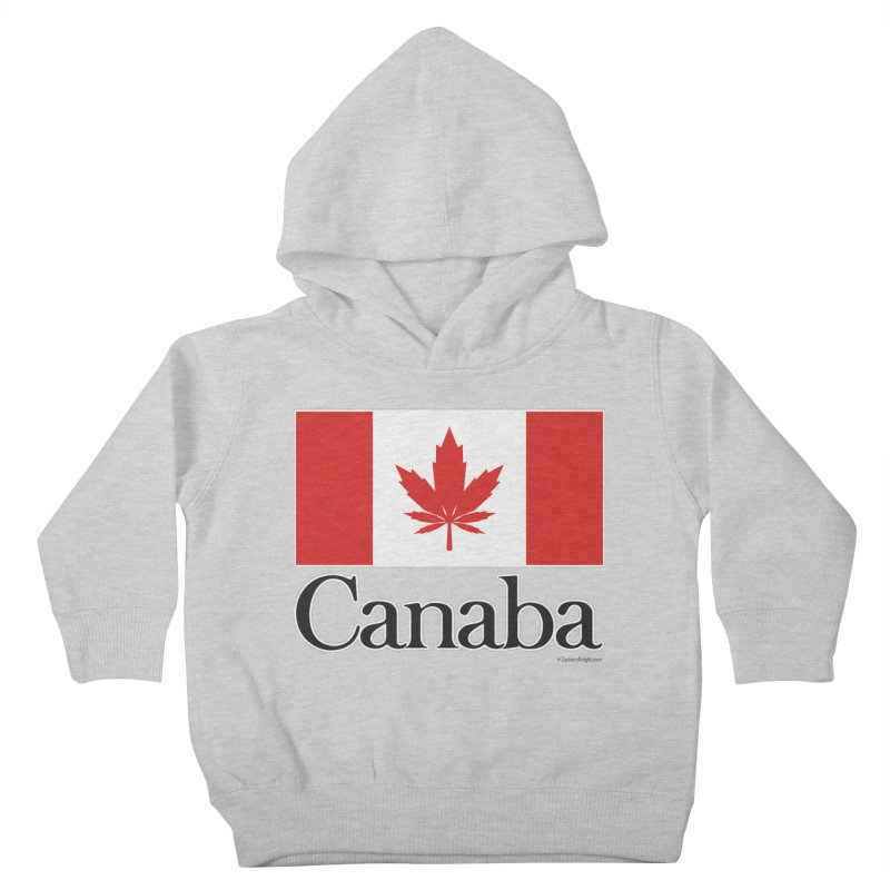 Canaba - Style A Kids Toddler Pullover Hoody by Zachary Knight | Artist Shop
