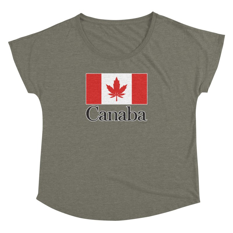 Canaba - Style A Women's Dolman Scoop Neck by Zachary Knight | Artist Shop