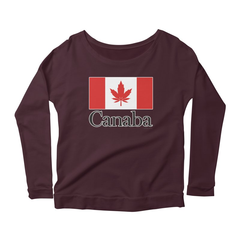 Canaba - Style A Women's Scoop Neck Longsleeve T-Shirt by Zachary Knight | Artist Shop