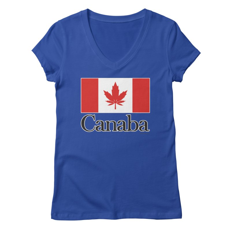 Canaba - Style A Women's V-Neck by Zachary Knight | Artist Shop