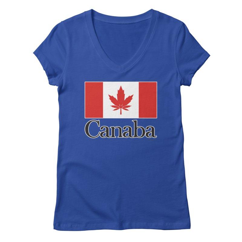 Canaba - Style A Women's Regular V-Neck by Zachary Knight | Artist Shop