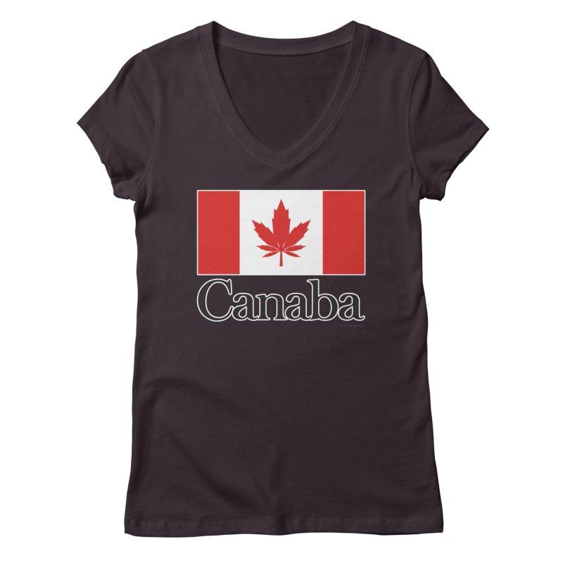 Canaba - Style A Women's V-Neck by Zachary Knight | Artist Shop
