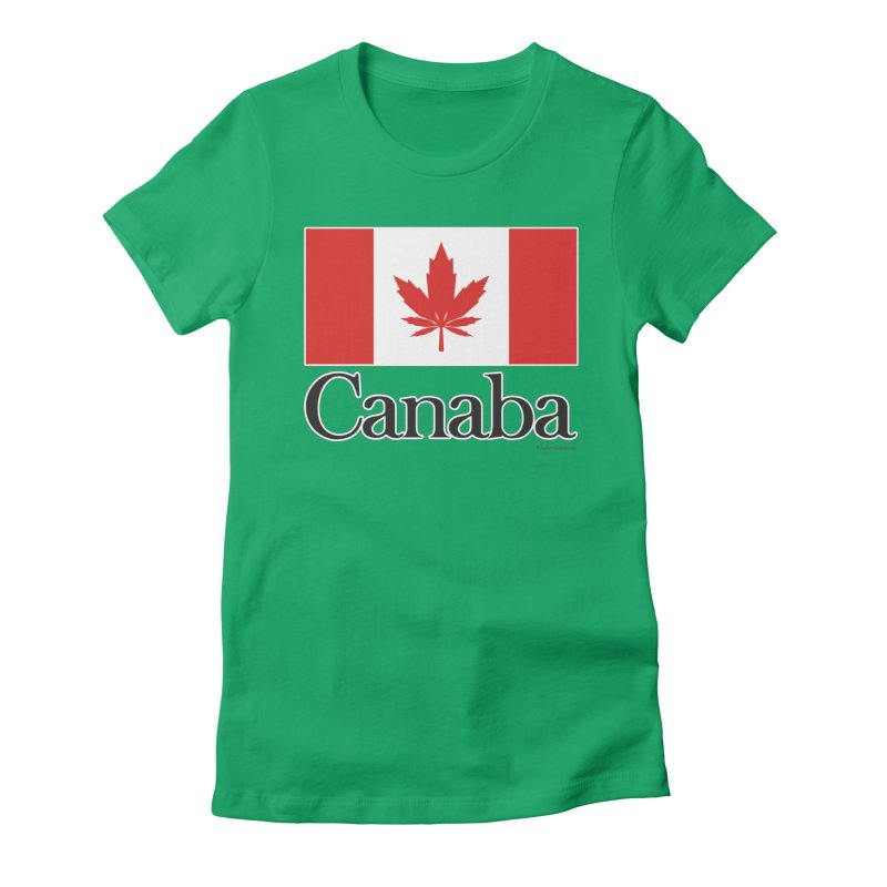 Canaba - Style A Women's Fitted T-Shirt by Zachary Knight | Artist Shop