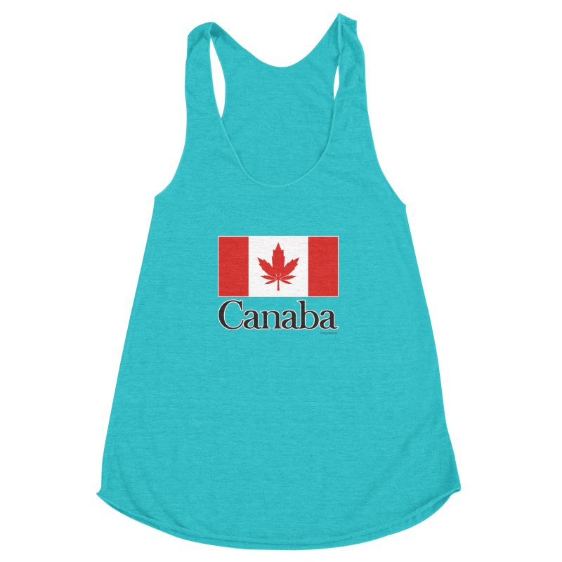Canaba - Style A Women's Racerback Triblend Tank by Zachary Knight | Artist Shop