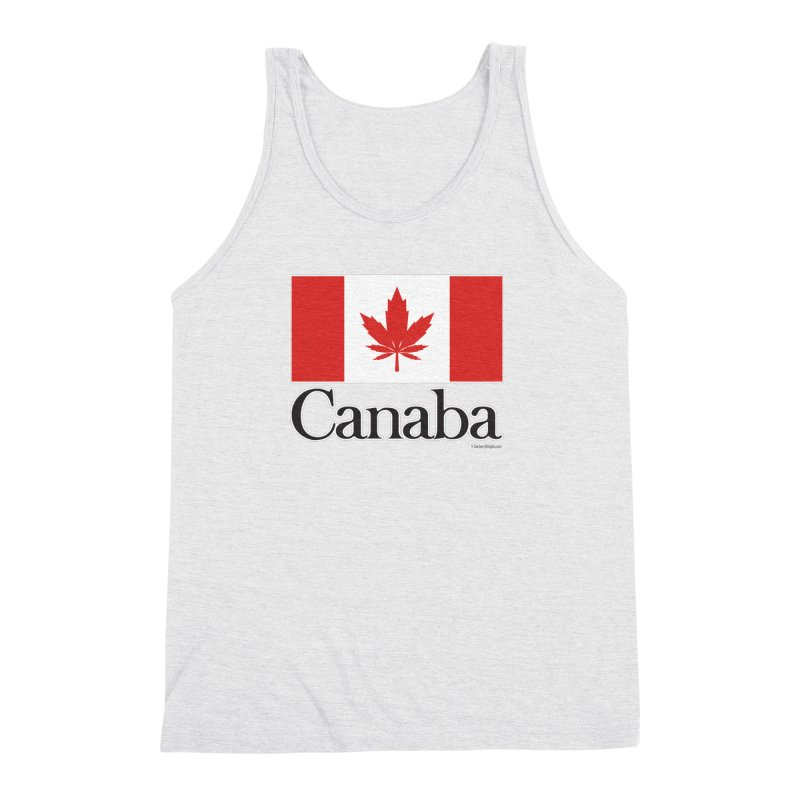 Canaba - Style A Men's Triblend Tank by Zachary Knight | Artist Shop