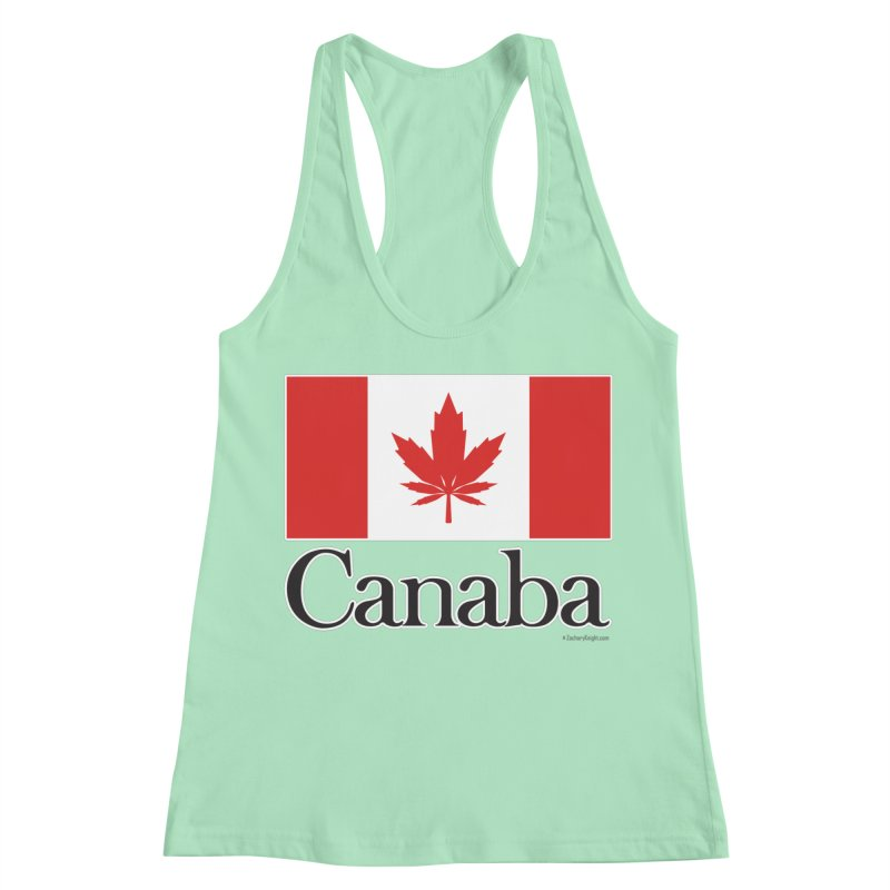 Canaba - Style A Women's Racerback Tank by Zachary Knight | Artist Shop