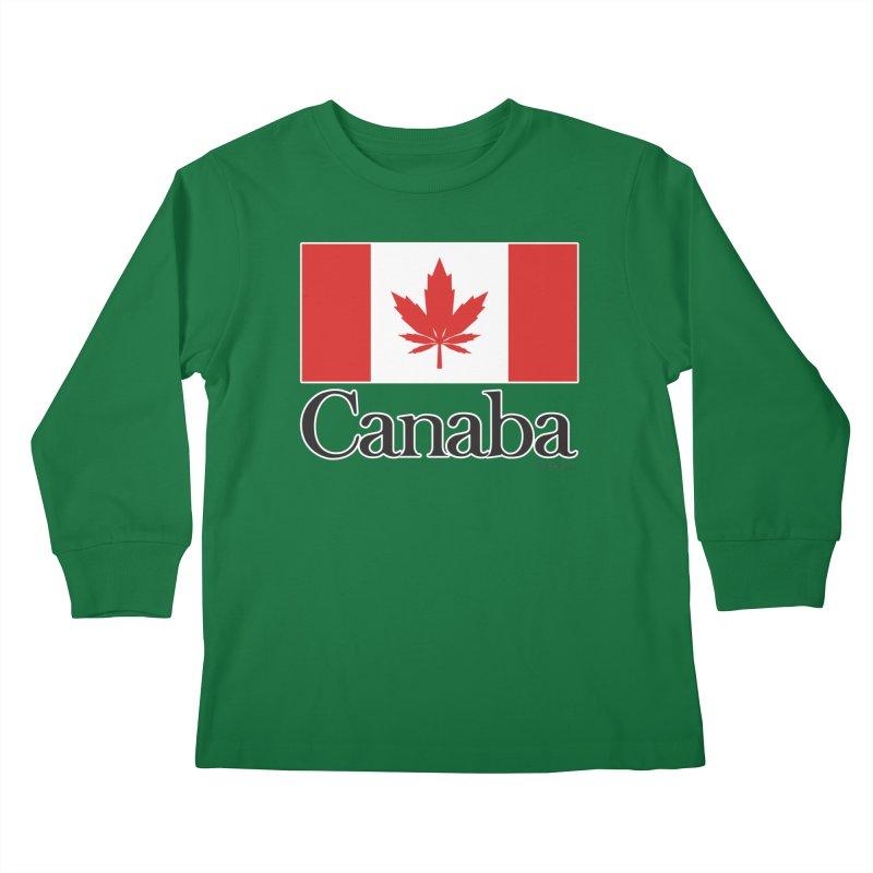 Canaba - Style A Kids Longsleeve T-Shirt by Zachary Knight   Artist Shop