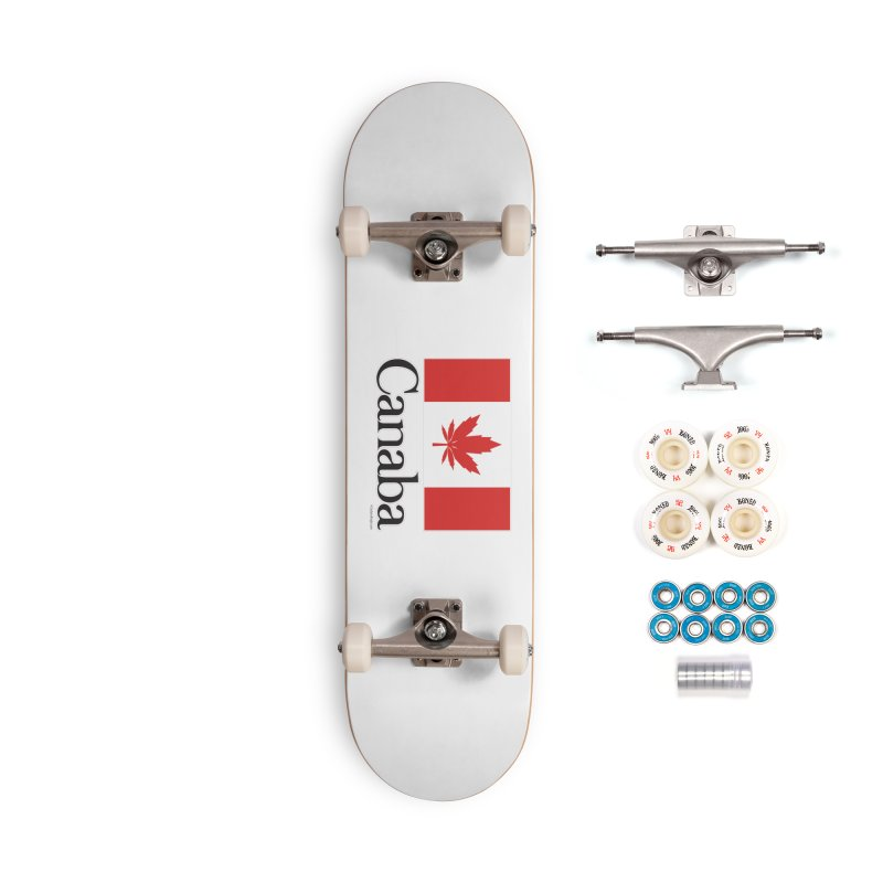 Canaba - Style A Accessories Complete - Premium Skateboard by Zachary Knight | Artist Shop