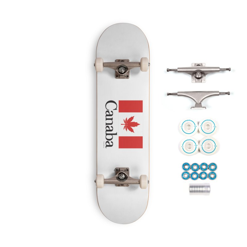 Canaba - Style A Accessories Complete - Basic Skateboard by Zachary Knight | Artist Shop