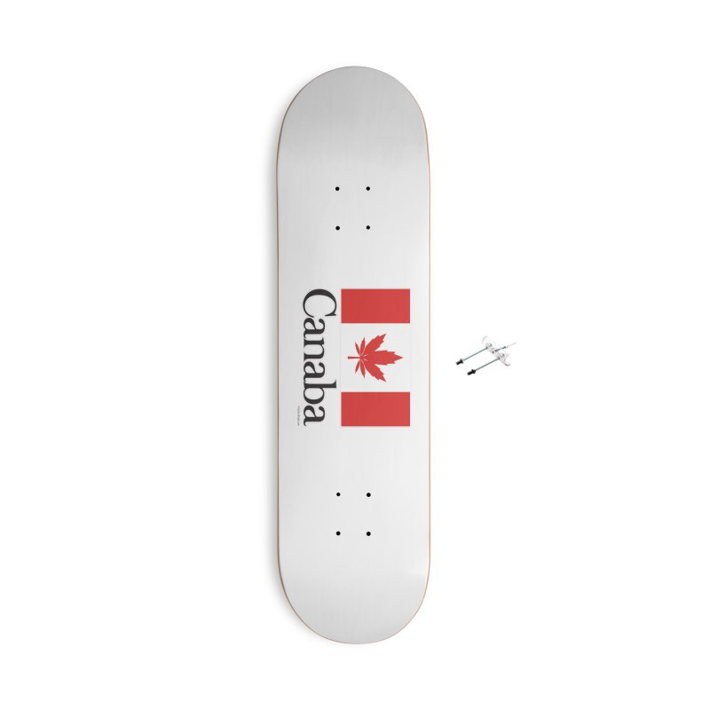 Canaba - Style A Accessories Skateboard by Zachary Knight   Artist Shop