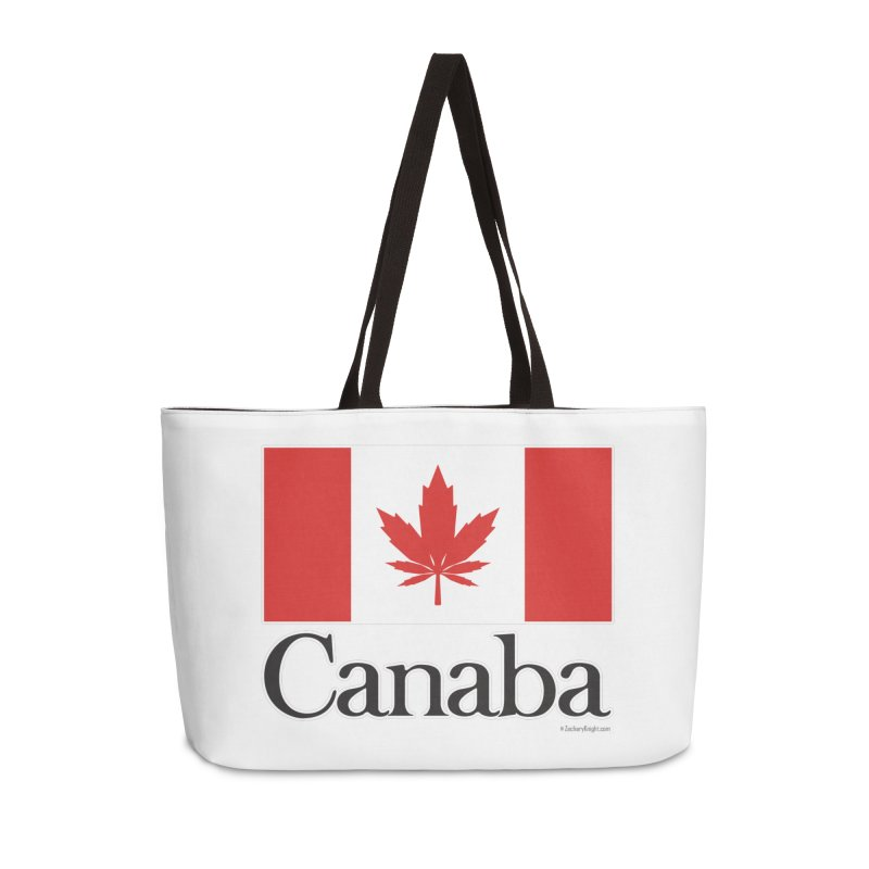 Canaba - Style A Accessories Weekender Bag Bag by Zachary Knight | Artist Shop