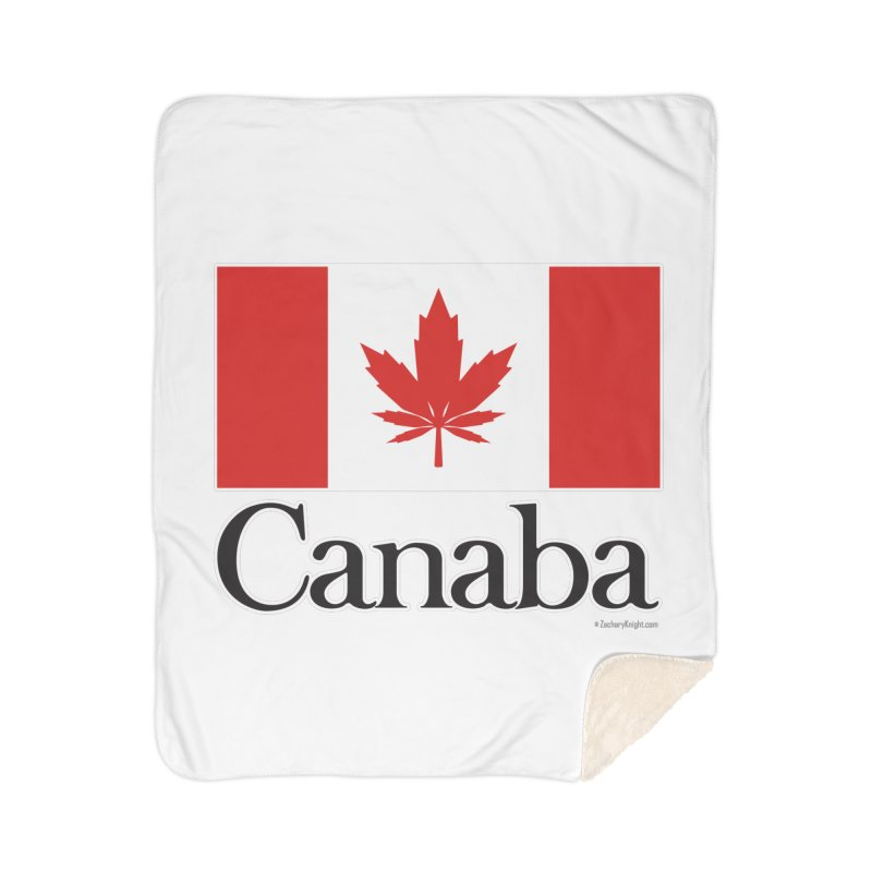 Canaba - Style A Home Blanket by Zachary Knight | Artist Shop