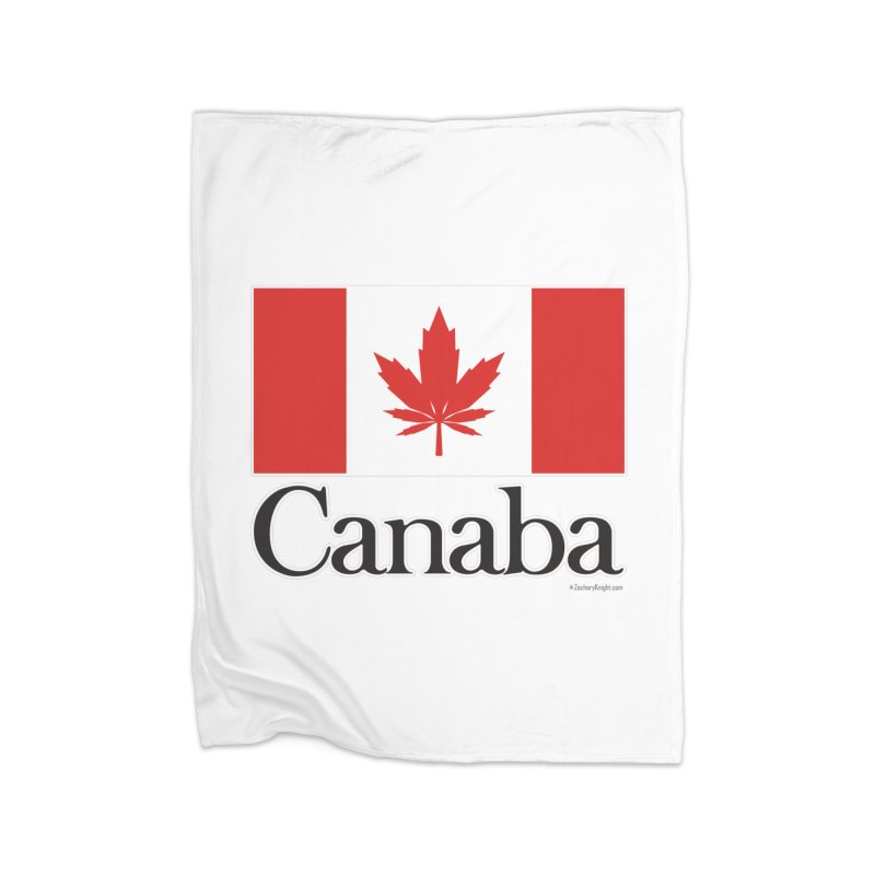 Canaba - Style A Home Fleece Blanket Blanket by Zachary Knight | Artist Shop