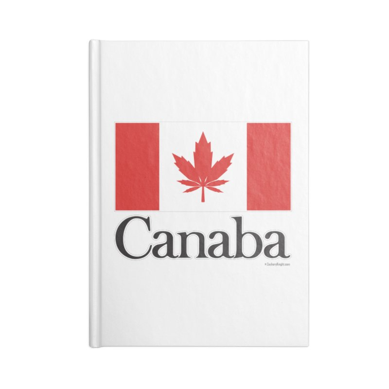 Canaba - Style A Accessories Blank Journal Notebook by Zachary Knight | Artist Shop